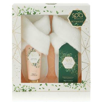Spa Botanique Collection Luxury Slipper Gift Set