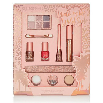 Sunkissed Essential Glitter Makeup Gift Set
