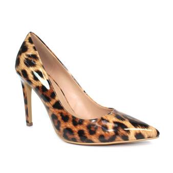 Tan Leopard Heels - Beckett