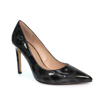 Black Leopard Heels - Beckett