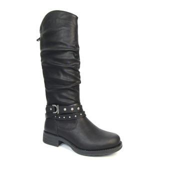 Ladies Black long Boots - Algeria