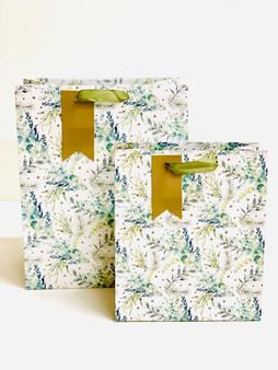 Christmas Spruce & Eucalyptus  Gift Bag