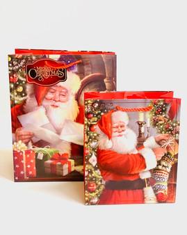 Traditional Santa Christmas Gift Bag