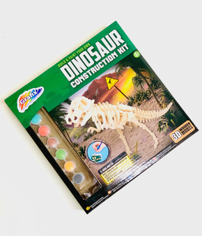 Build & Paint Your own Dinosaur - Perfect Make your Own Gift