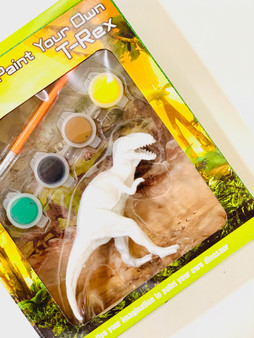 Paint Your Own T-Rex - Perfect Make your Own Gift