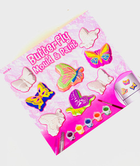 Butterfly Mould & Paint Magnets  - Perfect Make your Own Gift or Stocking Filler