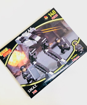 148pc S.W.A.T. Team Building Blocks - Perfect Gift or Stocking Filler