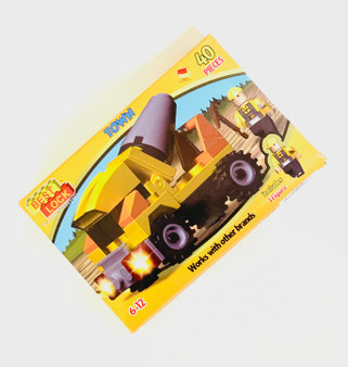 40pc Truck Building Blocks - Perfect Gift or Stocking Filler