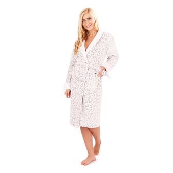 Pink Animal Print Robe