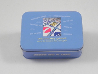 Car Journey Games in a Tin - Gift in a Tin (101270)
