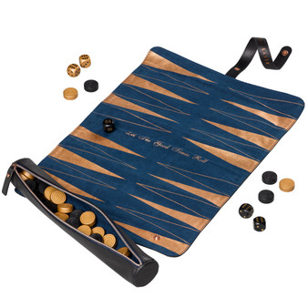 Ted Baker Brogue Backgammon Roll (TED255)