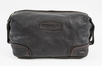 Primehide Soft Leather Wash Bag (FLG733)