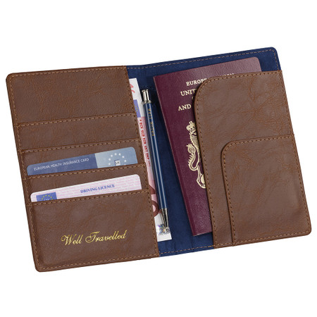 8fb373f0ebcc32 Ted Baker Brogue Travel Wallet   Pen - Readmans