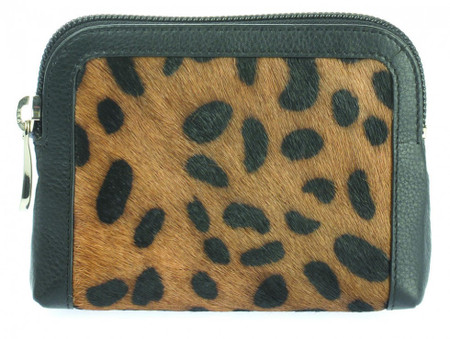 ee732a642875 Leather Animal Print Coin Purse - Readmans