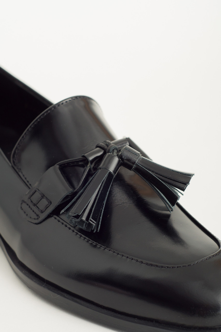 Tassel Detail Shoes, Black