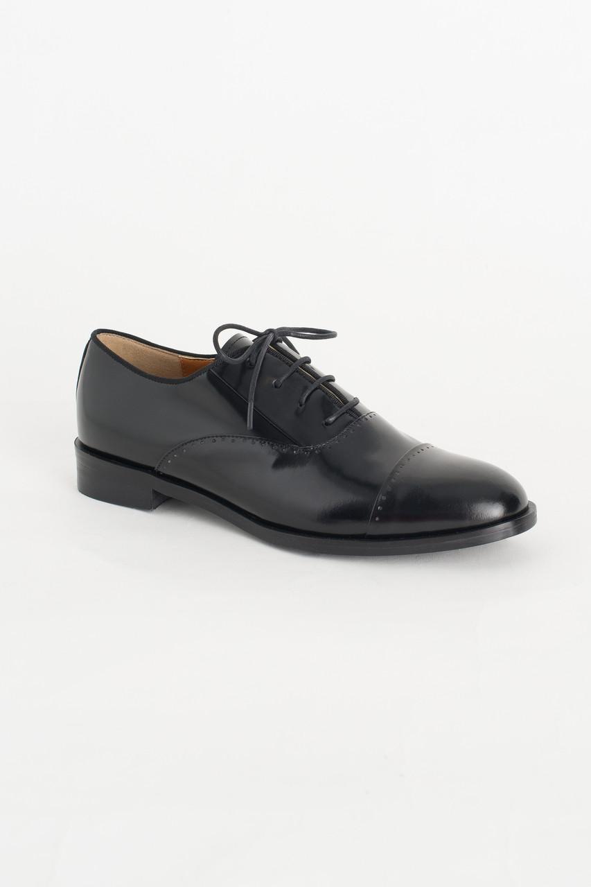 Simple Oxford Brogues, Black