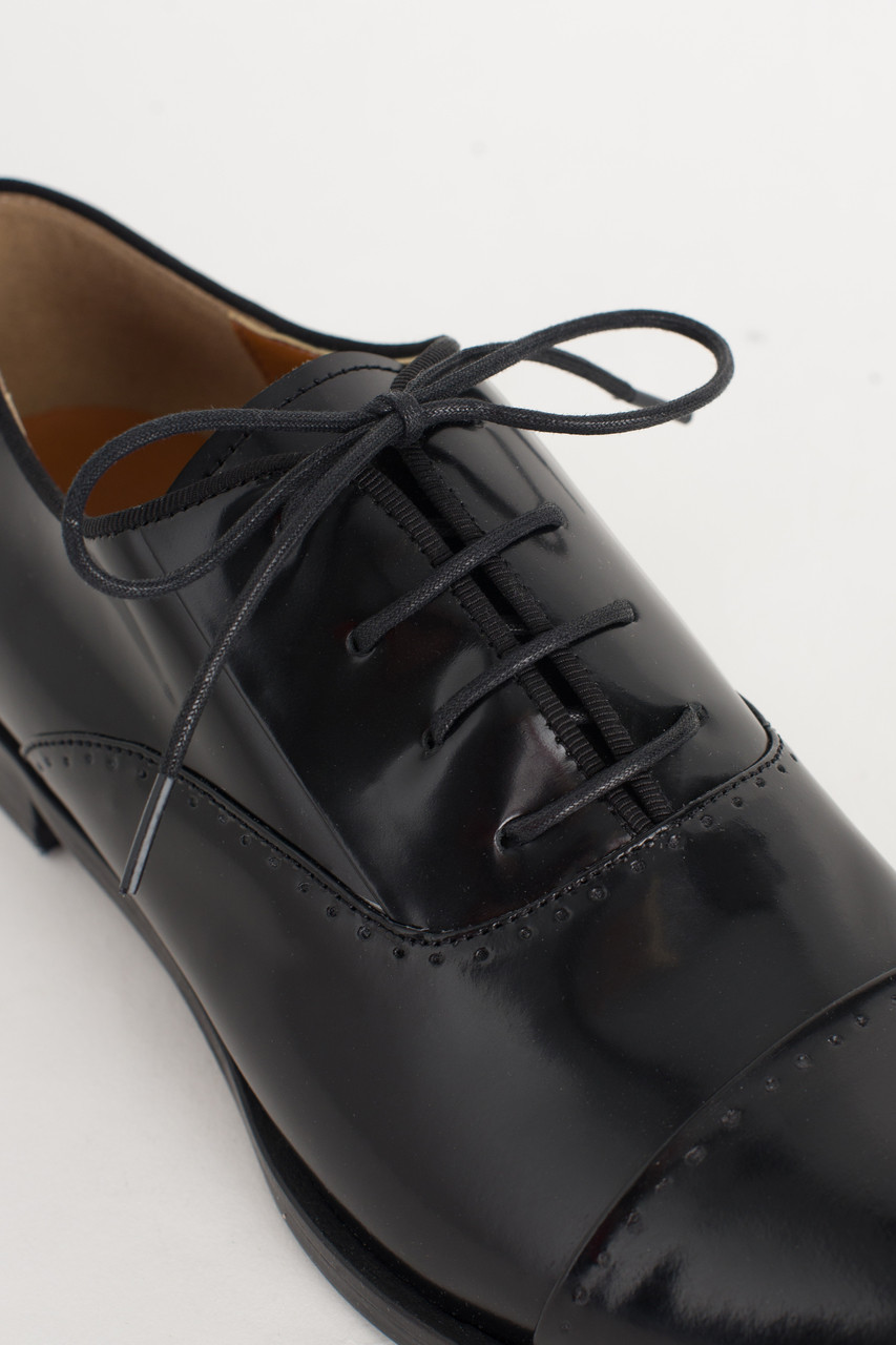 Simple Oxford Brogues, Black