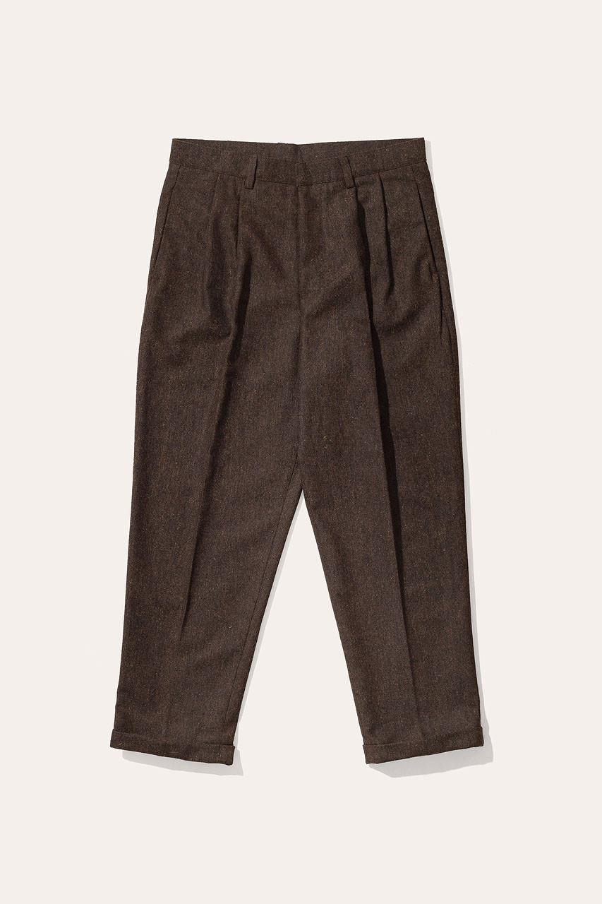 Menswear | Volk Trouser, Chestnut