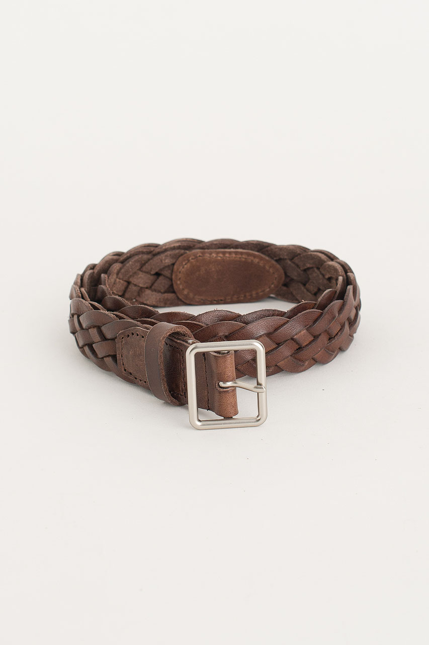 Cable Belt, Brown