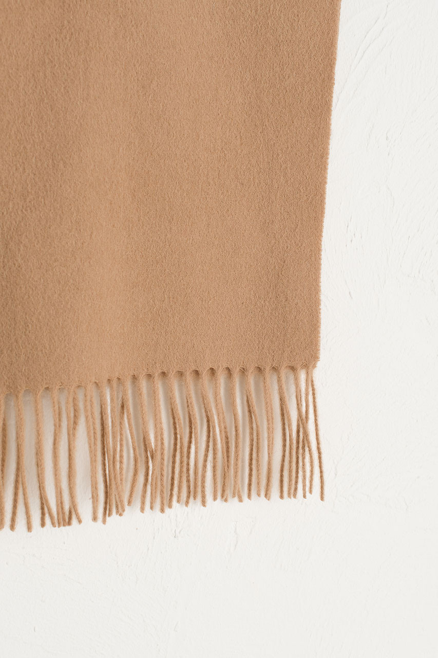 A/W 19 Mini Wool Scarf, Beige