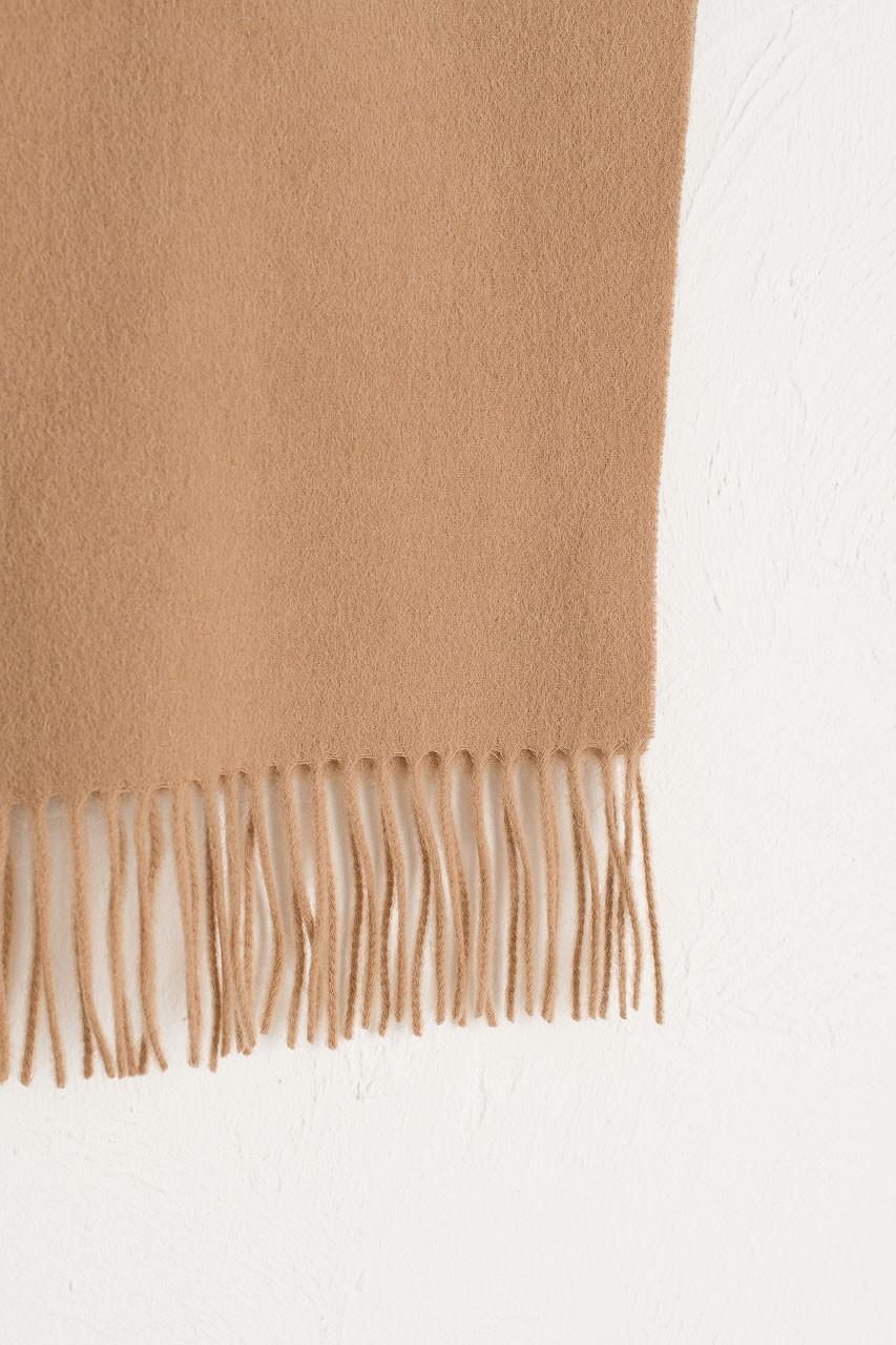 A/W 19 Mini Wool Scarf, Beige