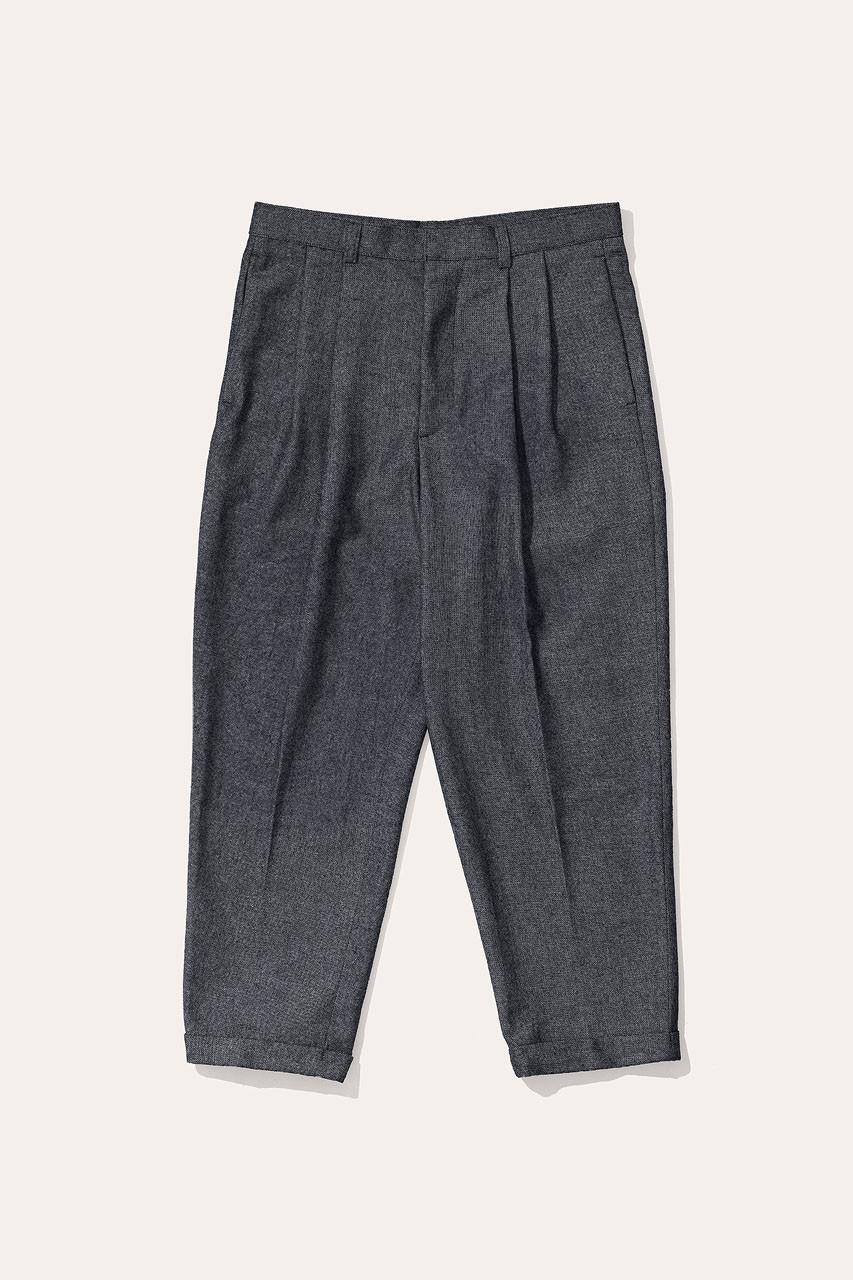 Menswear | Volk Wool Trousers, Charcoal