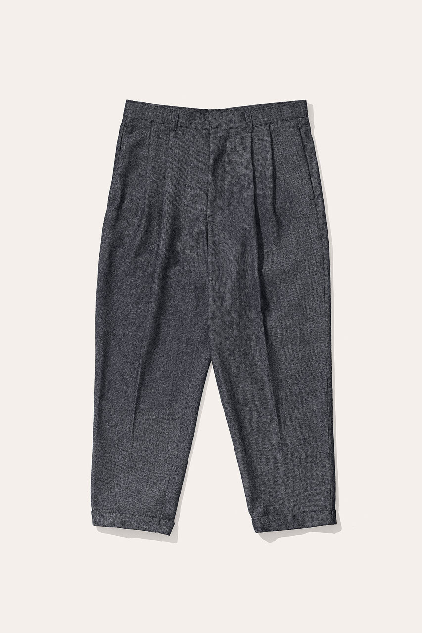 Menswear | Volk Wool Trousers, Charcoal
