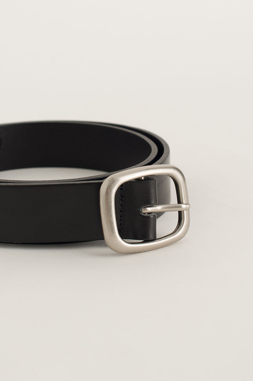 Menswear | Oval Belt, Black