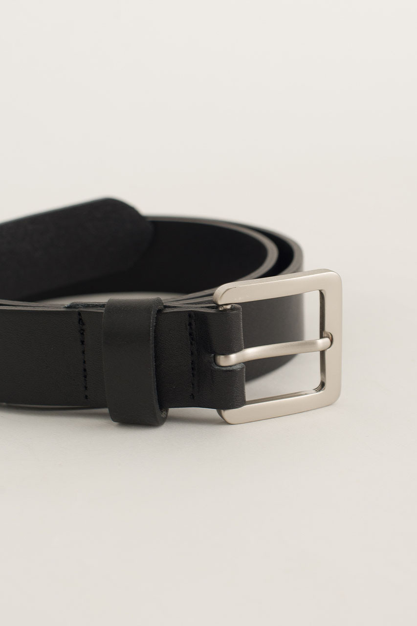 Menswear | Square Belt, Black