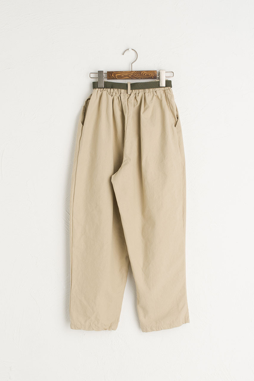 Utility Belted Pants, Beige