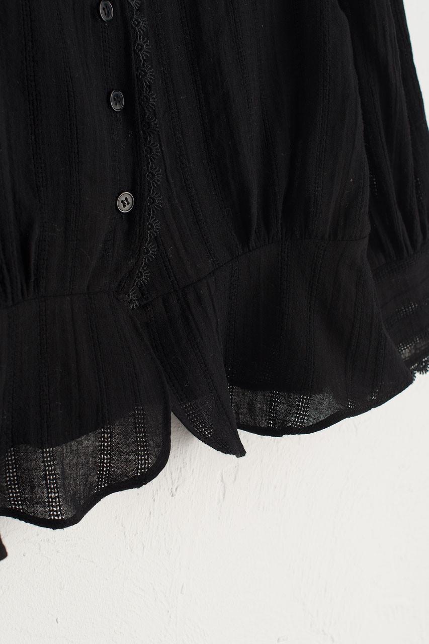 Ellie Mini Blouse, Black