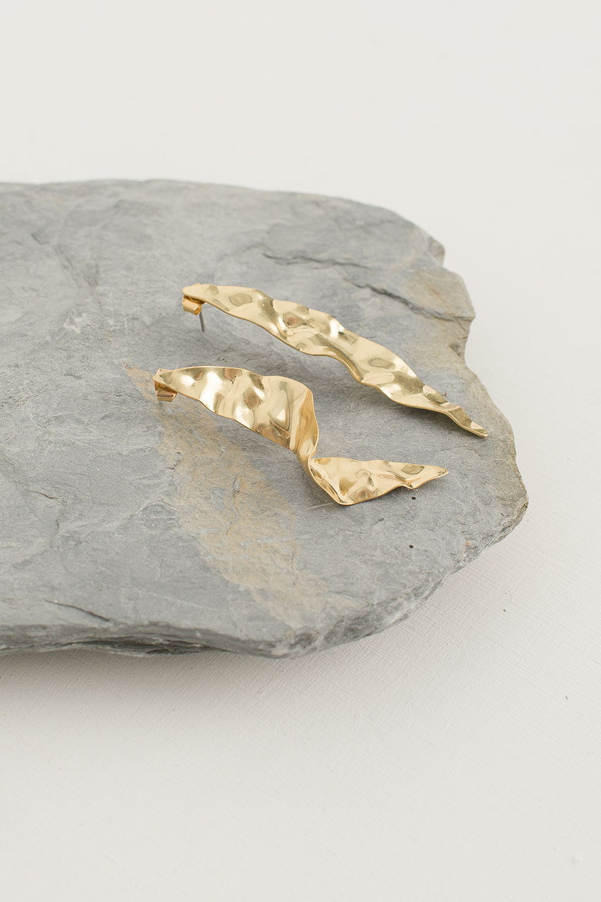 Stephany Earring, Gold Plated