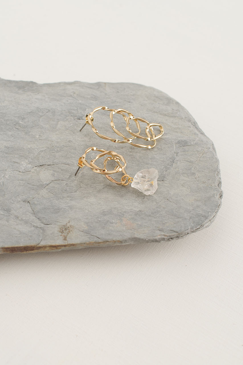 Scarlett Earring, Gold Plated