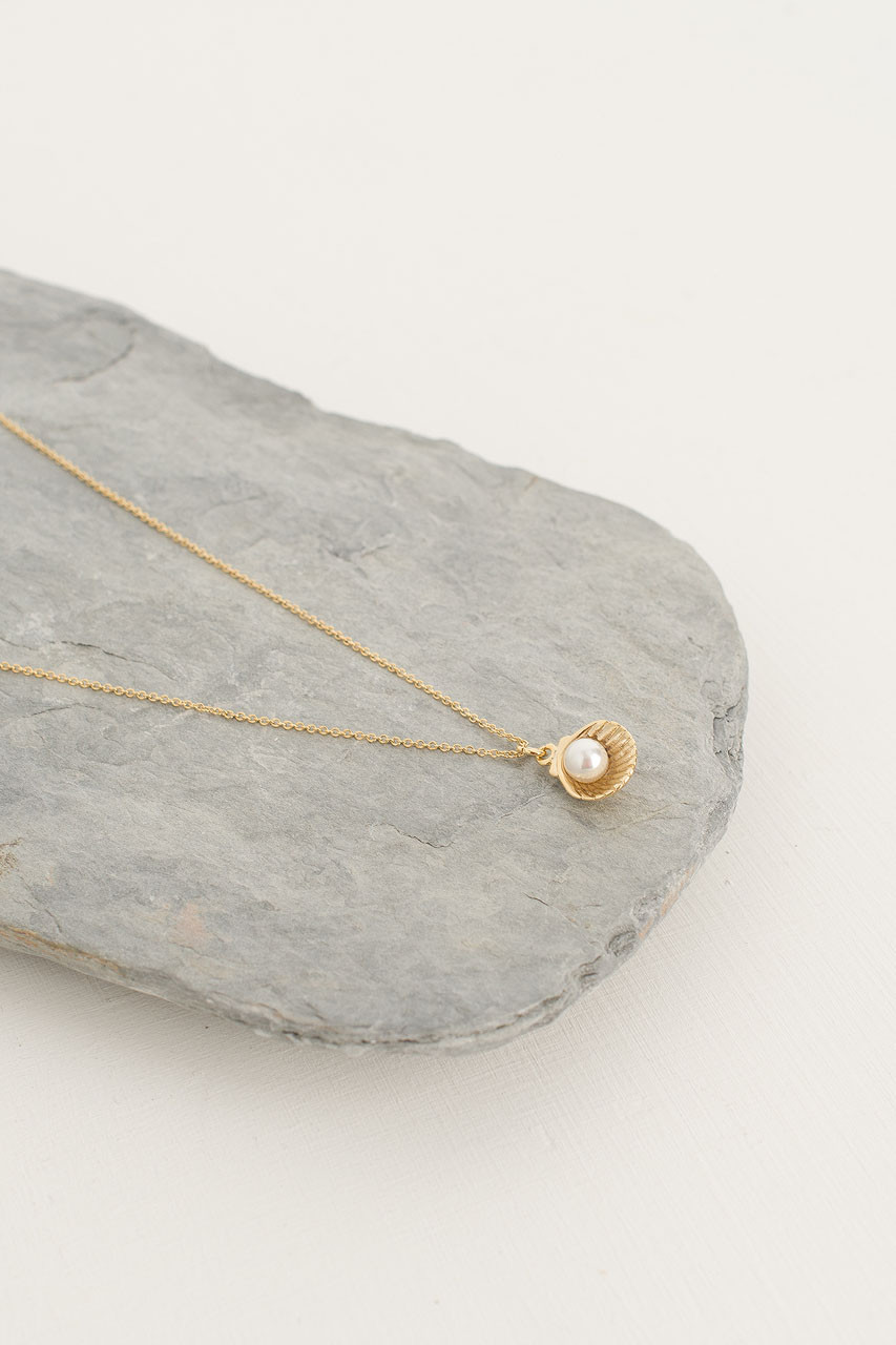 Mini Venus Necklace, Gold Plated