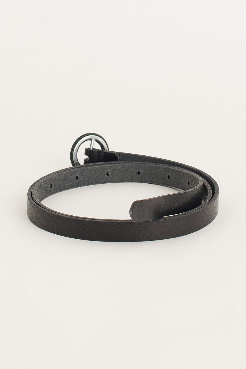 Small Ring Belt, Black
