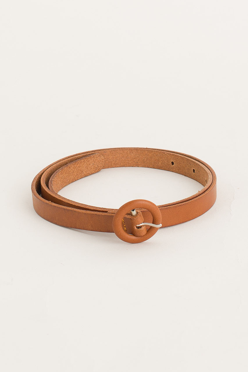 Small Ring Belt, Camel