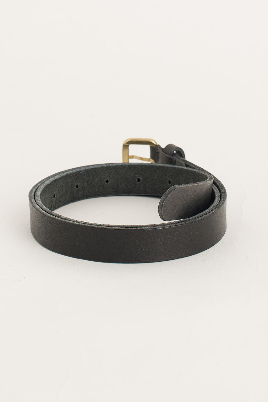 Siena Mini Square Belt, Black