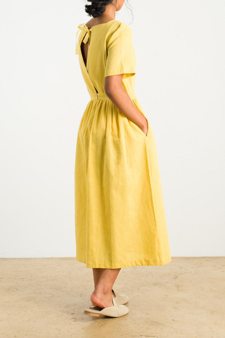 Tie Back Dress, Mint