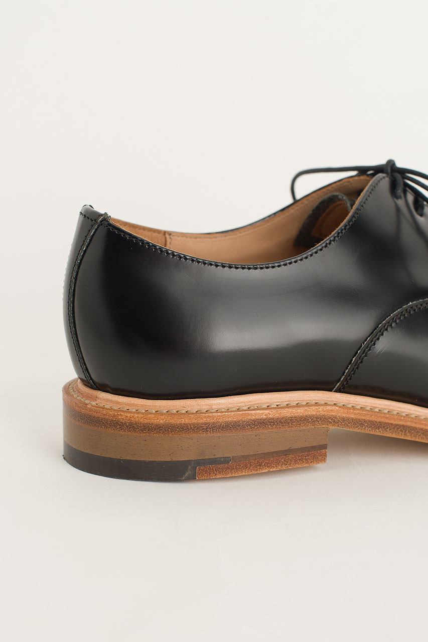 Pointed Oxford Shoes (Made in England), Black