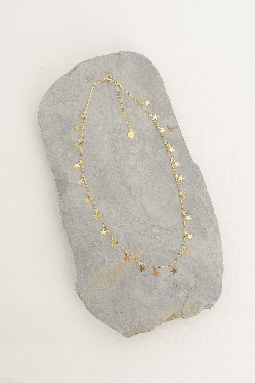 Constellation Necklace, 18K Gold Plated