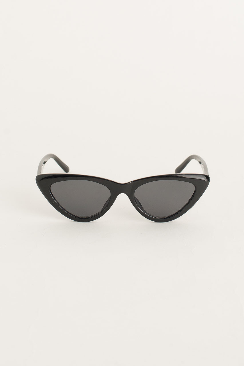 Cat Eye Sunglasses, Black