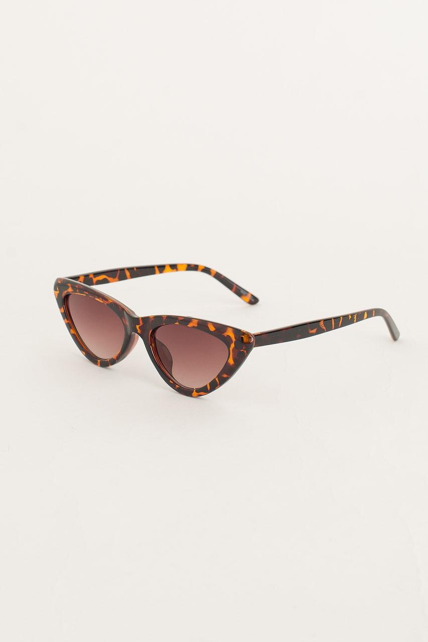 Cat Eye Sunglasses, Leopard