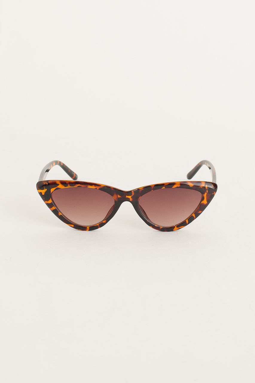 Cat Eye Sunglasses, Leopard