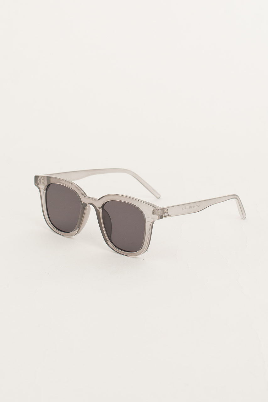 Castro Sunglasses, Transparent Grey