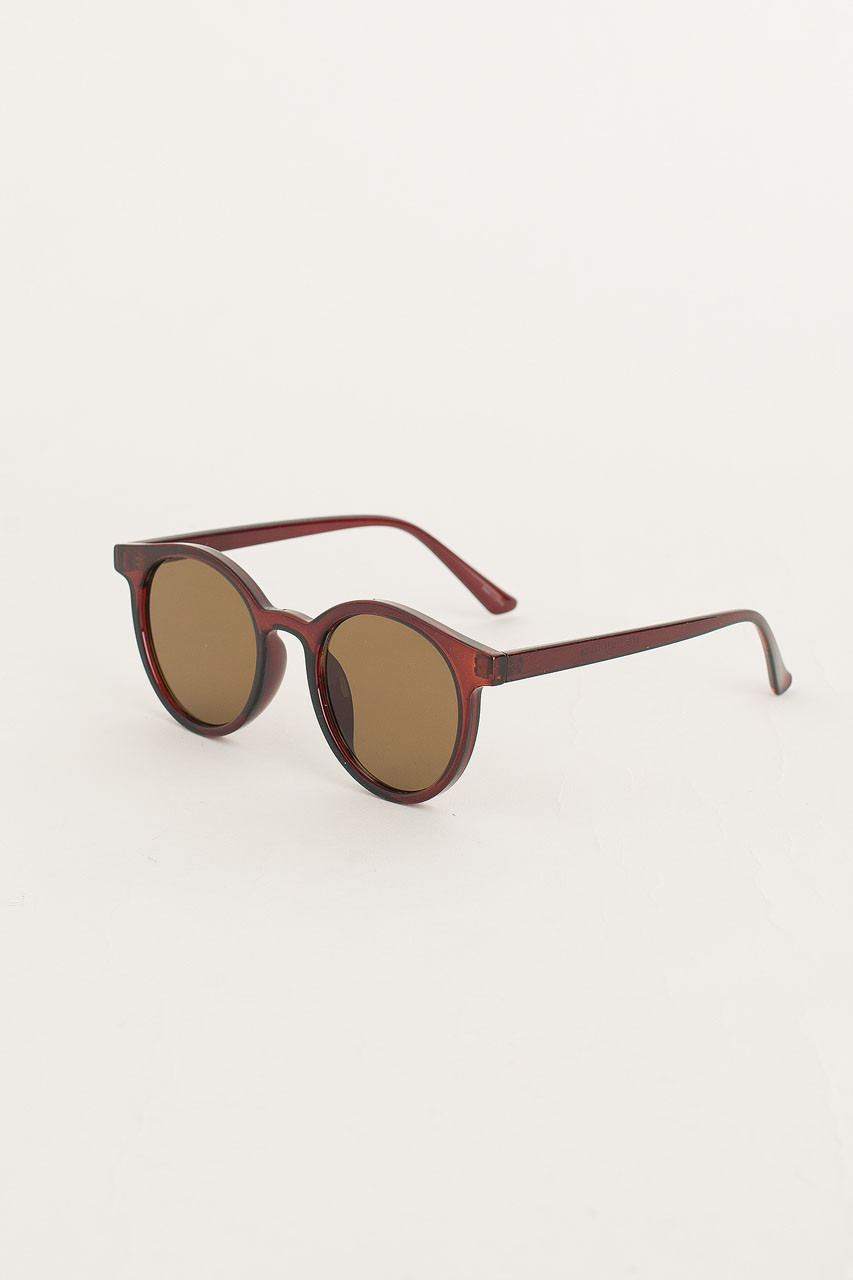 Uyuni Sunglasses, Cherry Brown