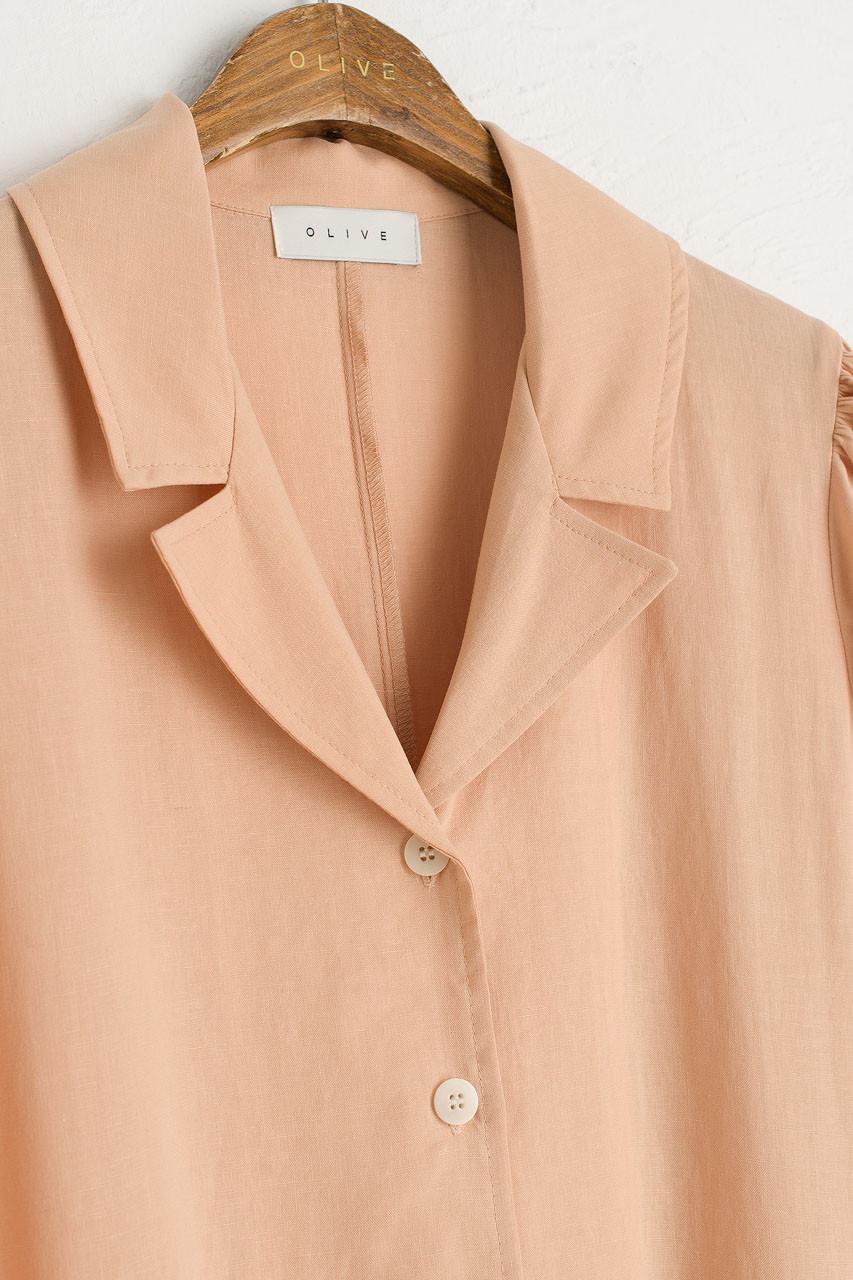 Joy Shirt Dress, Peach