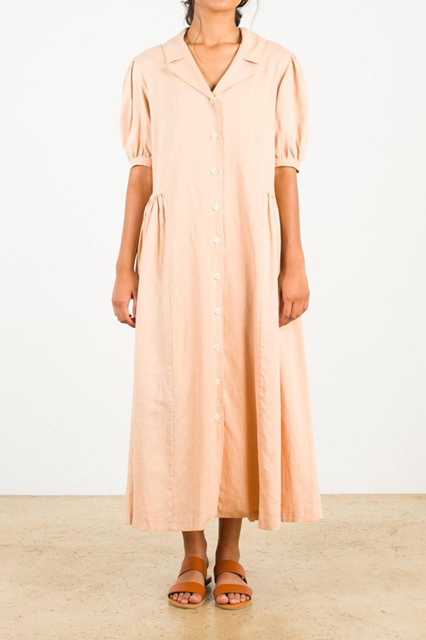 Joy Shirt Dress, Butter
