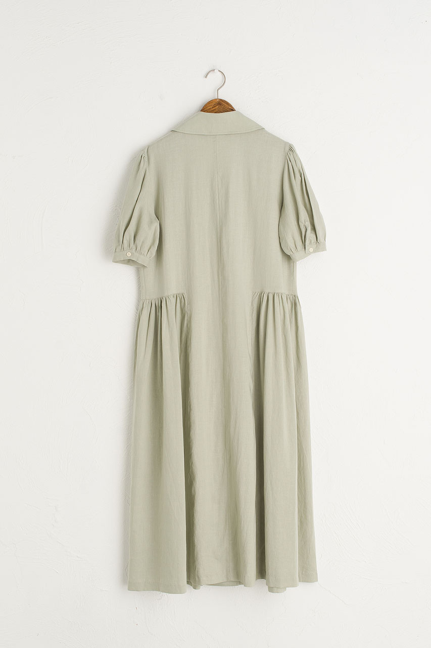 Joy Shirt Dress, Mint
