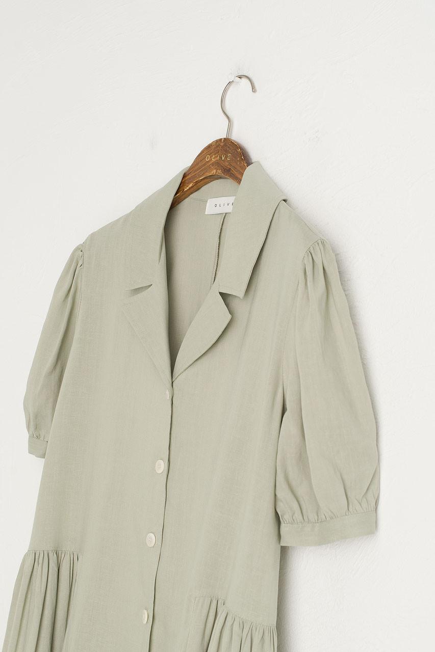 Joy Shirt Dress, Mint