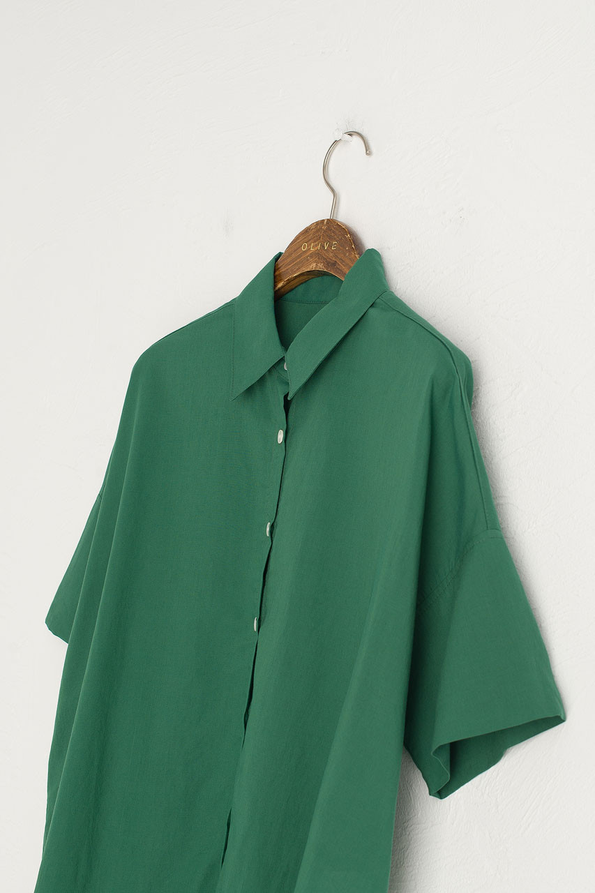 Jane Simple Blouse, Forest
